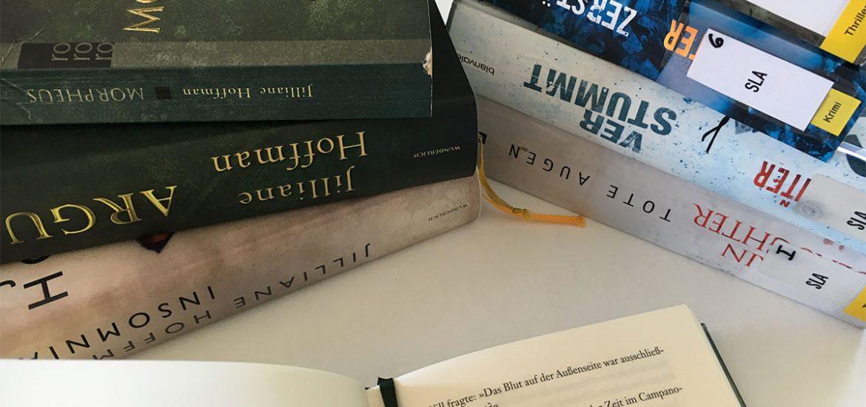 Bücher, Bücherliste, Bücherei, Thriller, Krimi, lesen, Jillian Hoffman, Karin Slaugther