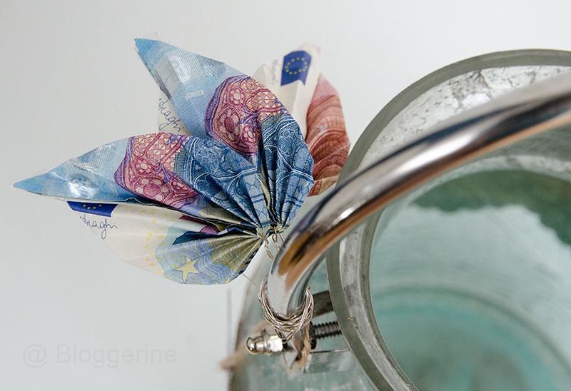 Hochzeit, Geschenk, Geldgeschenk, Geld falten, diy, Petersilienhochzeit