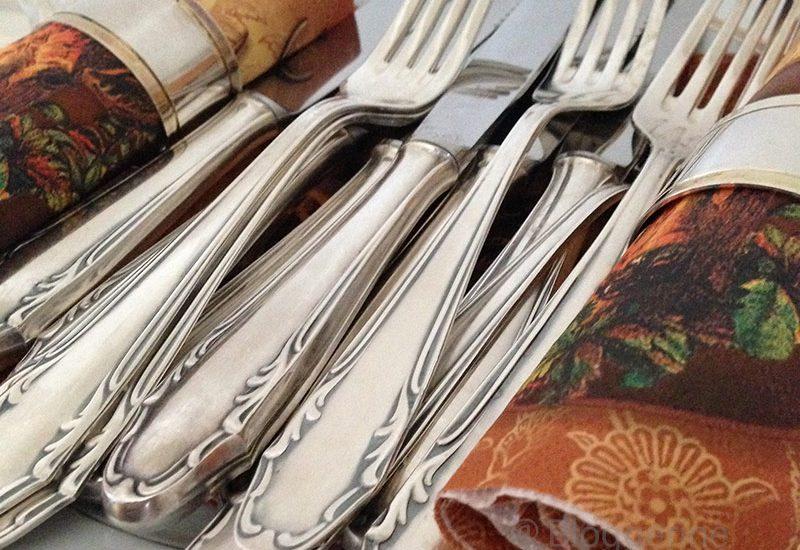 Besteck, Hochzeit, Essen, Silberbesteck, Catering, Vegetarier, vegetarisch