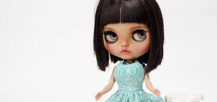 MargoTravellingBlythe, Blythe, diy, Margo, Karolin Felix, Puppe, doll, traveling blythe, Puppenhaus, Puppenmöbel, Brot backen. selber backen, Mischbrot, Rezept, Backrezept