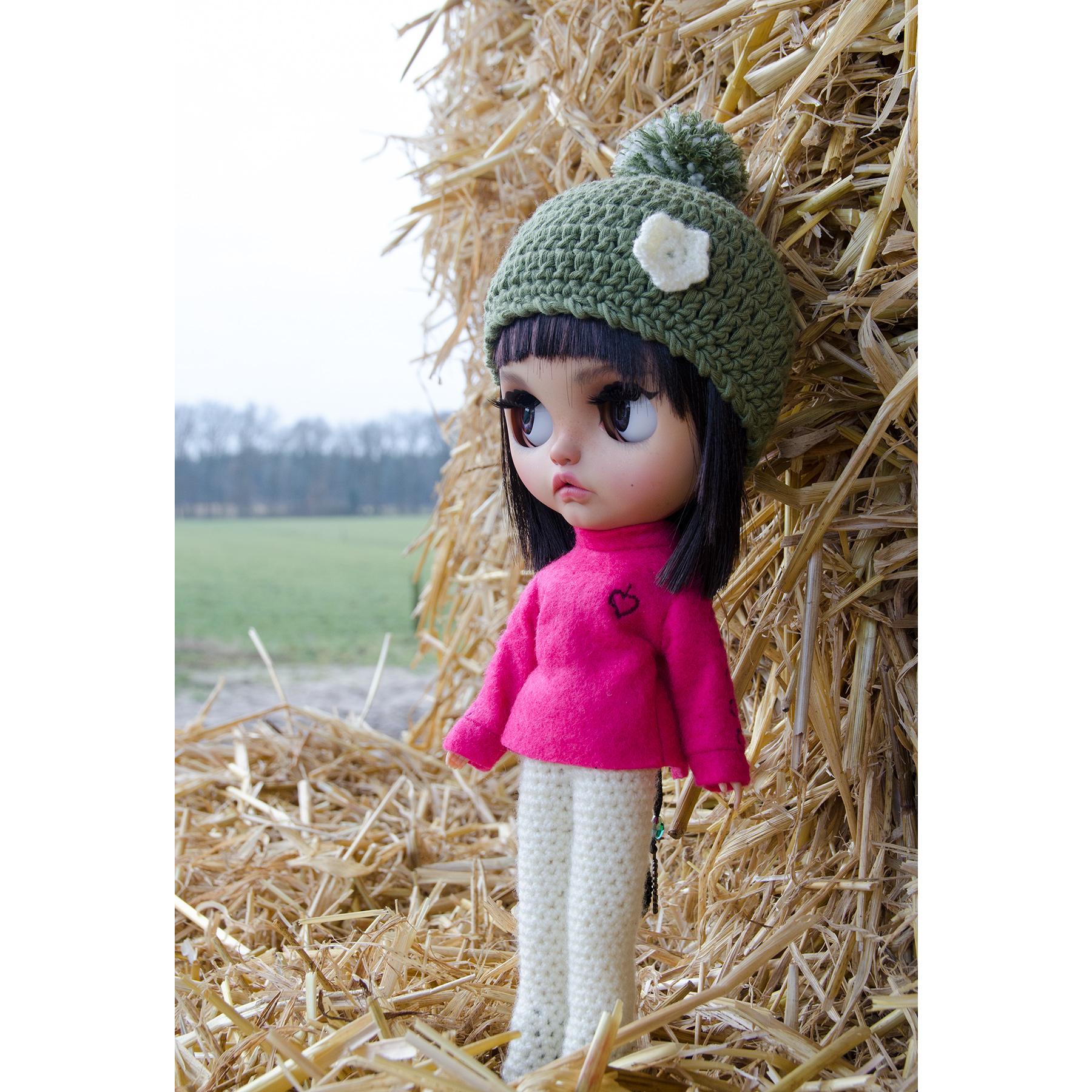 MargoTravellingBlythe, Blythe, diy, Margo, Karolin Felix, Puppe, doll, traveling blythe