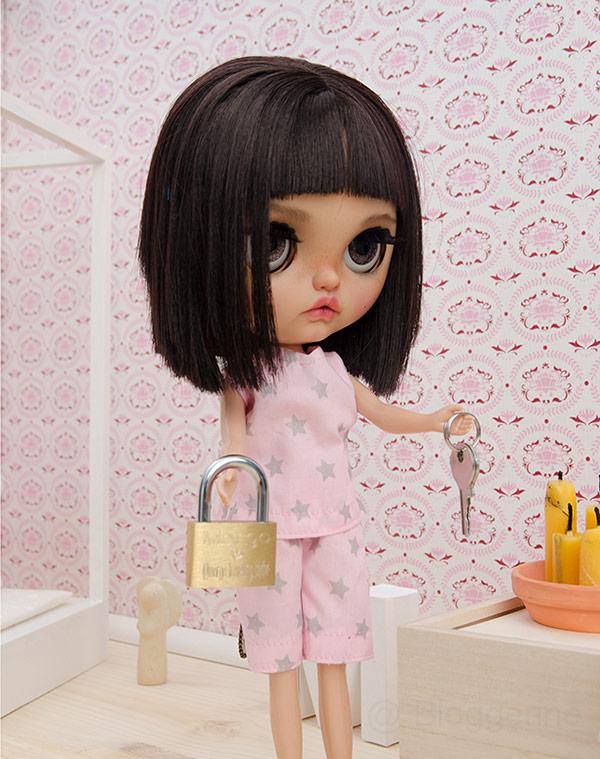 MargoTravellingBlythe, Blythe, diy, Margo, Karolin Felix, Puppe, doll, traveling blythe, Puppenhaus, Puppenmöbel