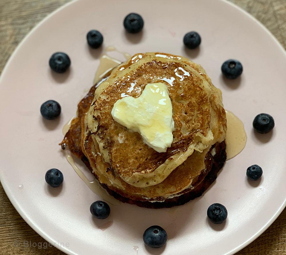 Rezept, Bananenpancakes, Pancakes, Eierkkuchen, Pfannkuchen, Resteverwertung, backen, kochen, einfach, Protein, lecker