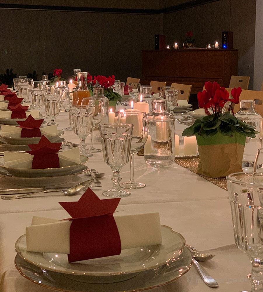 Weihnachsstube - Heiligabend anders & gemeinsam im Gemeindehaus