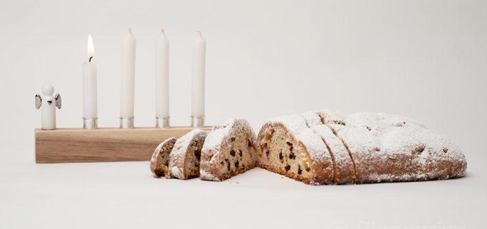 Advent, Adventszeit, Weihnachtsbäckerei, backen, Rezept, Stollen, Christstollen, Quarkstollen, einfach