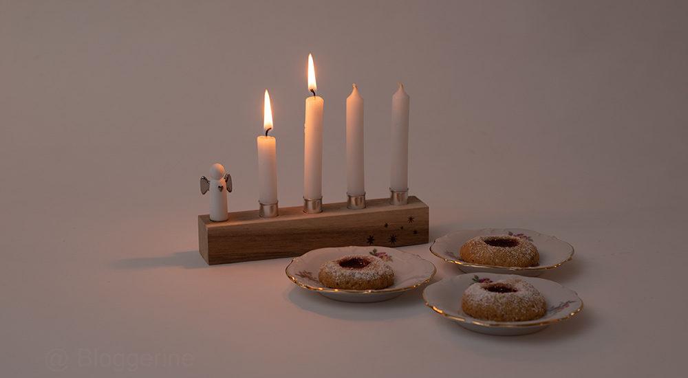 Advent, Adventszeit, Weihnachtsbäckerei, backen, Rezept, Husarenkrapfen, einfach