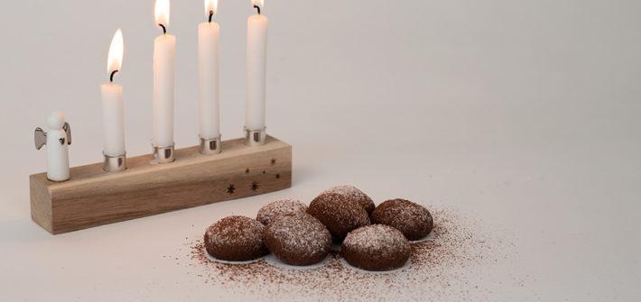 Advent, Adventszeit, Weihnachtsbäckerei, backen, Rezept, Kakaoseufzer