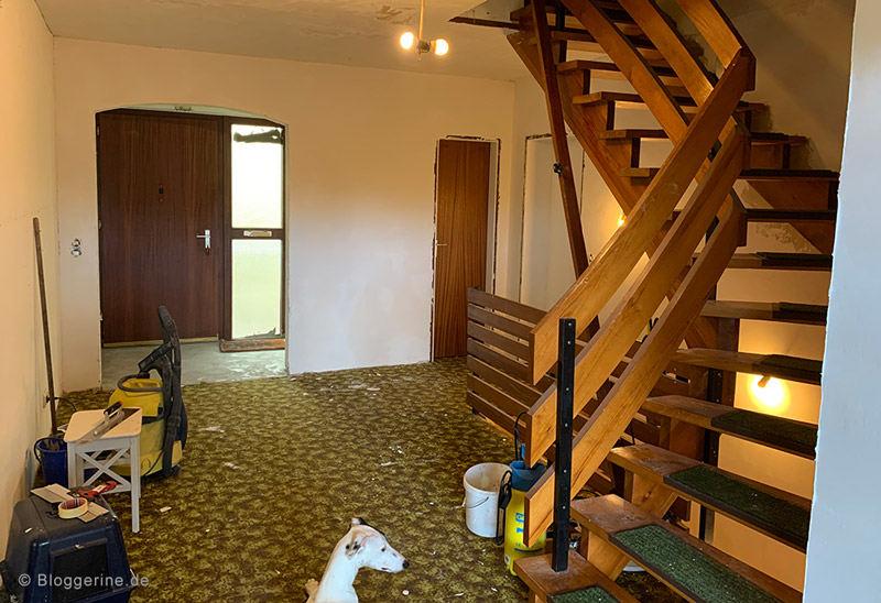 Flur selber renovieren - Zimmertür ersetzen