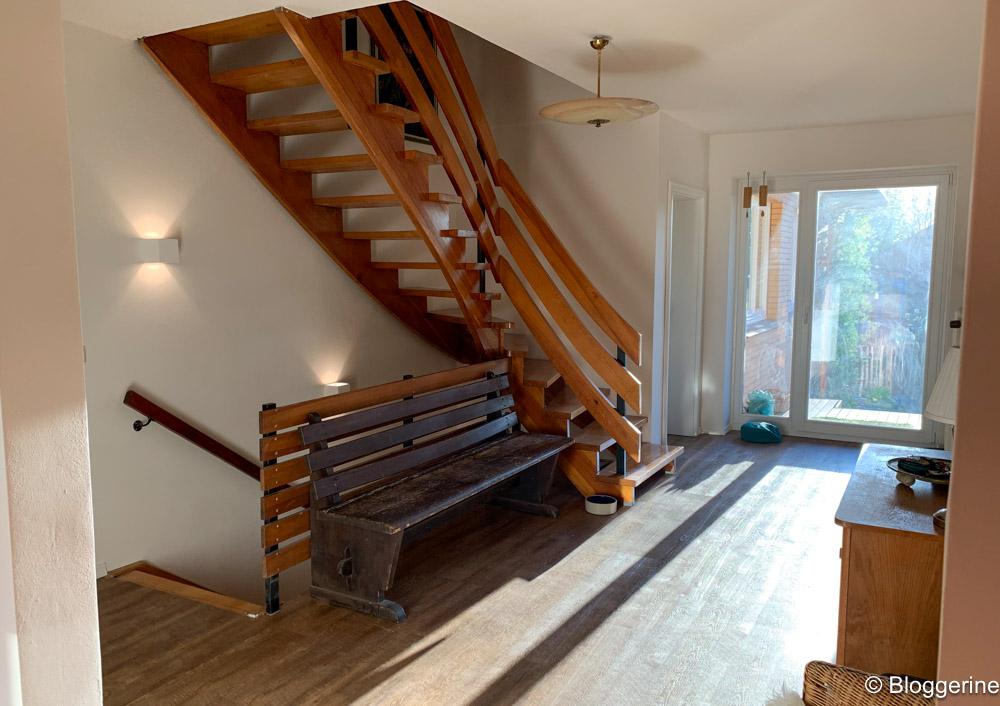 Tarkett und offenen Treppe