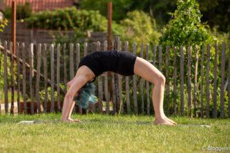 Yogapose Rad